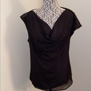 NWT Cynthia Rowley black top